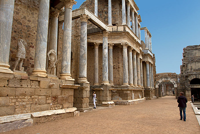 Mérida, one of the Cities in Extremadura, Roman culture